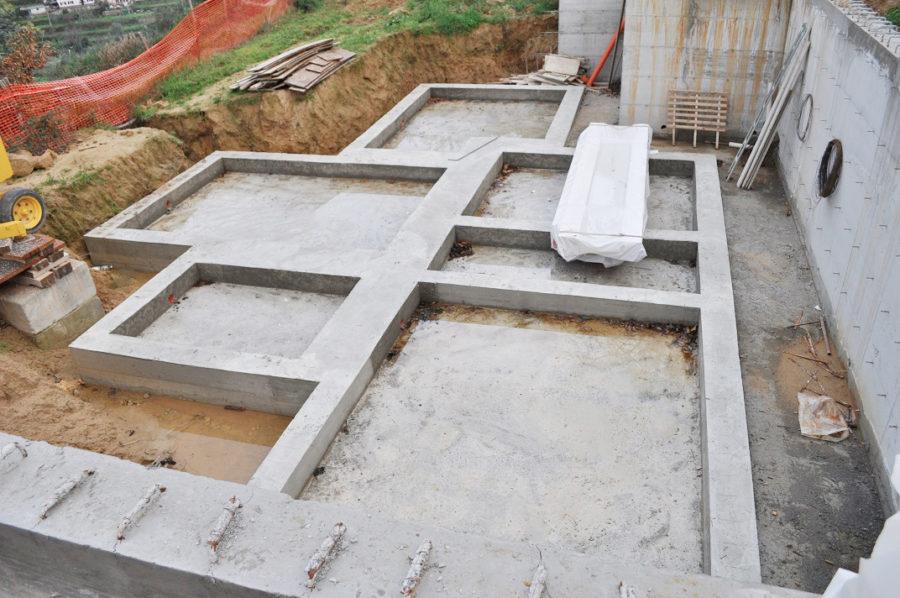 fondamenta casa in legno