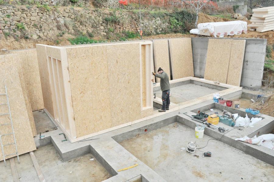 fondamenta più costruzione