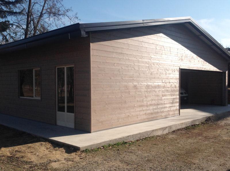 garage legno